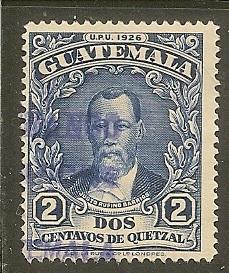 Guatemala  Scott  235    Barrios    Used