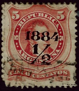 Argentina #49 Used F-VF SCV$3.50...Such a Deal!