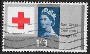 Great Britain 399 Used - Red Cross - Elizabeth II