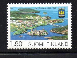 Finland Sc 800 1989 Savonlinna stamp mint NH