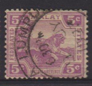 Malaya Sc#58 Used