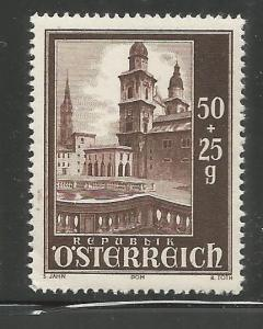 AUSTRIA, B255, MNH, CATHEDRAL FROM SOUTH