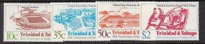 TRINIDAD& TOBAGGO ^^^^OLDER # 374-377    MNH set++) $$@ lar545tri