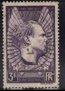 FRANCE Scott 326 Used Jean Mermoz Aviator 1937 stamp
