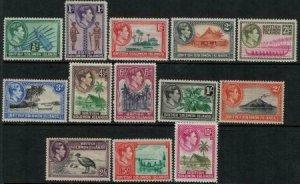 Soloman Islands SC 67-79 Mint 1939-1951 SCV$ 57.00 Set