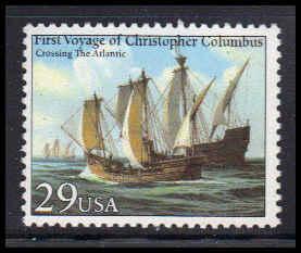 2621 29c Crossing the Atlantic Fine MNH