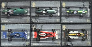 2007 Sg 2744/2749 Grand prix Racing Cars Fine Used Set of 6
