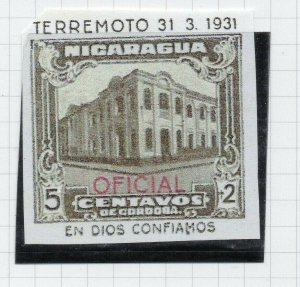 Nicaragua 1931 PROOF Issue Fine Mint Hinged 5c. Optd Official NW-14274
