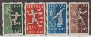 Lithuania Scott #B47-B50 Stamps - Mint Set