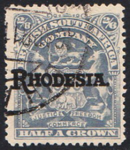 Rhodesia Scott 94 Used.