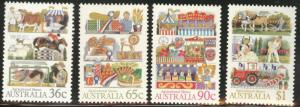 AUSTRALIA Scott 1019-22 MNH** 1987 Agriculture stamp set