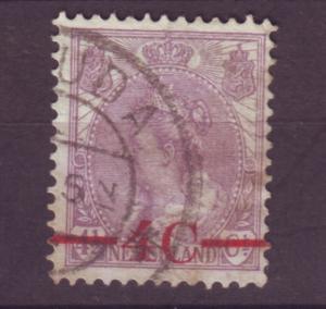 J15674  JLstamps 1921 netherlands set of 1 used #106 ovpt