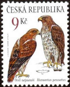 Czech Republic 3216 - Mint-NH - 9k Booted Eagle (2003) (cv $1.00)