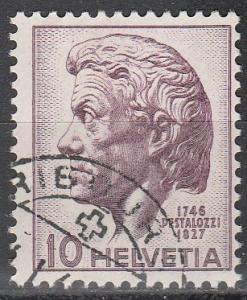 Switzerland #306 F-VF Used  (S1970)