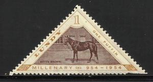 Lundy (true local issue) Cinderella 1954 Backman# 113 MNH