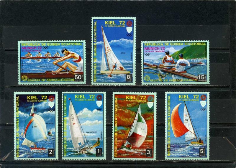 Equatorial Guinea MNH Yachting Munich Olympics 1972