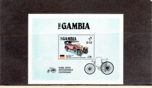 GAMBIA 628 SOUVENIR SHEET MNH 2014 SCOTT CATALOGUE VALUE $4.75