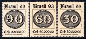 Brazil 2411-2413 MNH VF