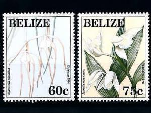 [79869] Belize 1994 Flora Flowers Blumen Orchids Christmas  MNH
