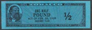 UNITED STATES TF1080 MINT NH TOBACCO SERIES 124(1954) 1/2 LB