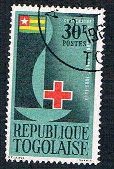 Togo 453 Used Centenary Emblem (BP11510)