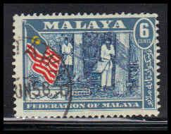 Malaya-Federation Used Average ZA4374