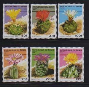 Benin MNH sc# 871-6 Cactus 2014CV $5.10