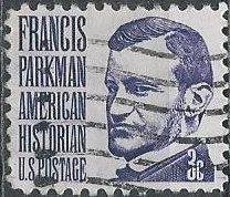 US 1281 (used) 3¢ Francis Parkman (1975)
