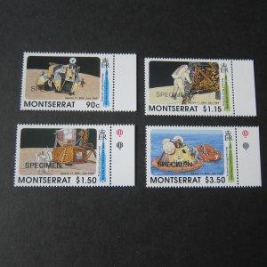 Montserrat 1989 Sc 726-729 set SPECIMEN MNH