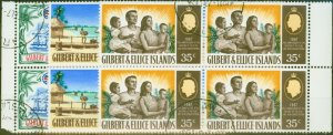 Gilbert & Ellice Is 1967 75th Anniv of Protectorate set of 3 SG132-134 Superb Us