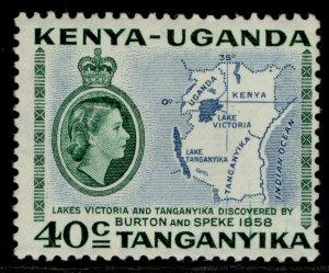 KENYA UGANDA TANGANYIKA QEII SG181, 1s 30c green & violet, M MINT.