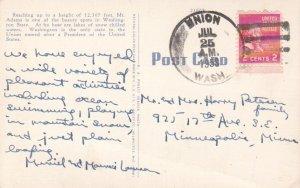 United States Washington Union 1953 4f-bar  PC.