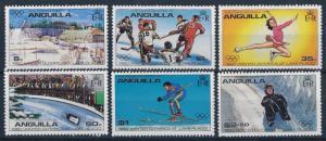 [63265] Anguilla 1980 Olympic Games Lake Placid - Ice Hockey  Skating  MNH