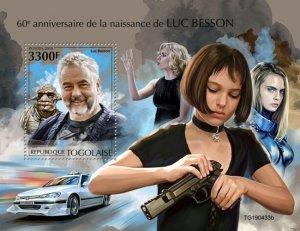 TOGO - 2019 - Luc Besson - Perf Souv Sheet  - M N H
