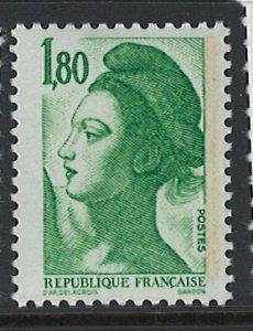 France Scott 1879A MNH! Pair!
