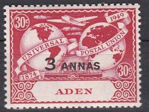 Aden Sc #33 MNH VF