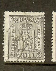 NORWAY (P1908B) SC13  VFU