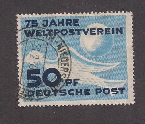 GERMANY - DDR SC# 48 F-VF U 1949