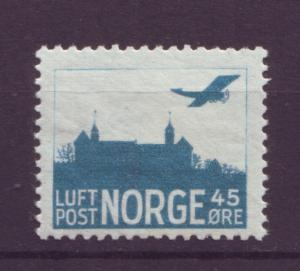 J18341 JLstamps 1927 norway mh #c1a airplane
