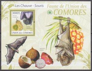2009 Comoro Islands 2470/B532 The bats / Fruits 15,00 €