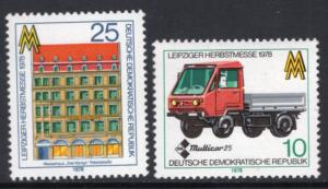 DDR #1941-1942 MNH CV$0.60