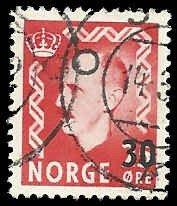 Norway - 321 - Used - SCV-0.30