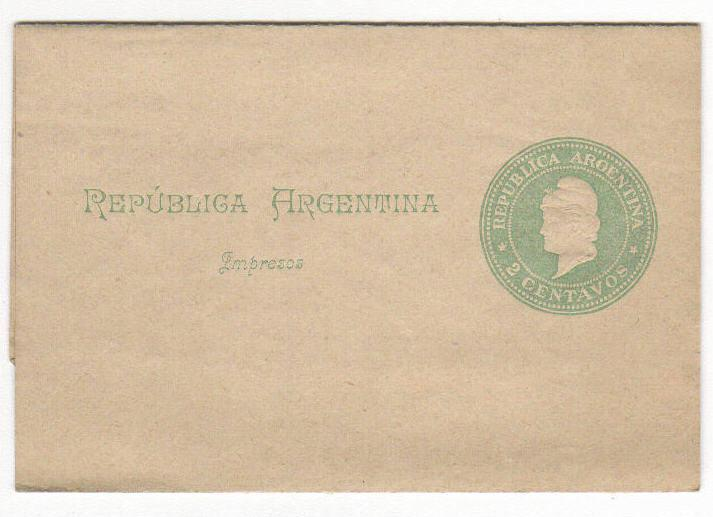 Argentina 2c Postal Stationary Unused (old)