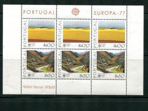Portugal  Europa 1977 sheet  VF NH