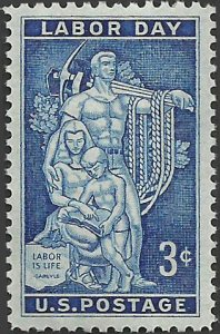 # 1082 MINT NEVER HINGED ( MNH ) LABOR DAY