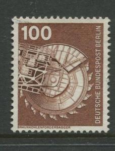 Germany -Scott 1179 - Definitive Issue -1975 - VFU -Single 100pf Stamp