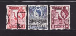 Kenya, Uganda, Tanzania 104, 108, 110 U Elizabeth II (B)