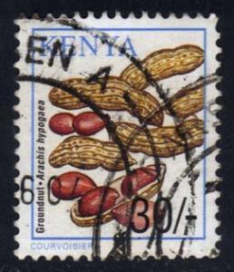 Kenya #757 Peanuts; used (0.60)