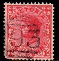 Australia - Victoria  #219 Queen Victoria (wmk 13) - Used