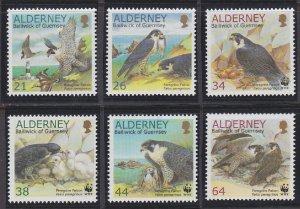 Alderney 142-147 MNH (2000)